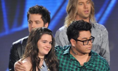 American Idol Eliminates Andrew Garcia and Katie Stevens, Welcomes Back Adam Lambert