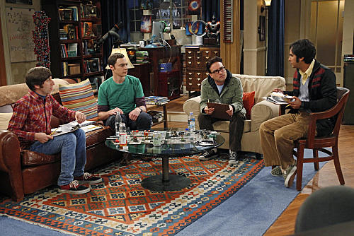 The Men of The Big Bang Theory