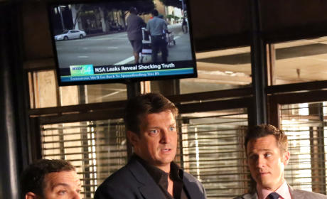 Castle First Look Photo: Who is Sully?