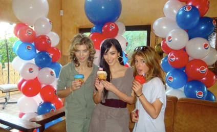 AnnaLynne McCord and Shenae Grimes Party for President, with Kim Kardashian
