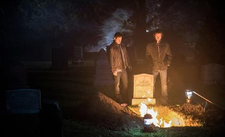 "Supernatural Photos from ""The Foundry"""