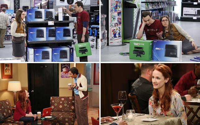 Sheldon shops for new gaming system
