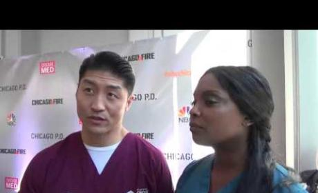 Brian Tee and Marlyne Barrett Interview