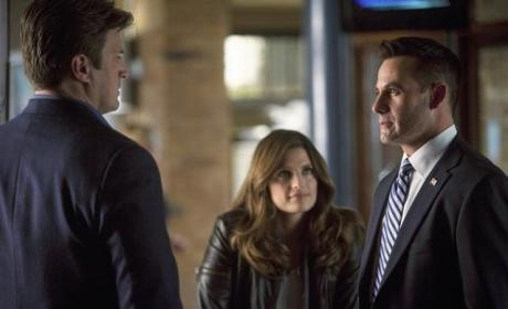 Adrian Pasdar on Castle
