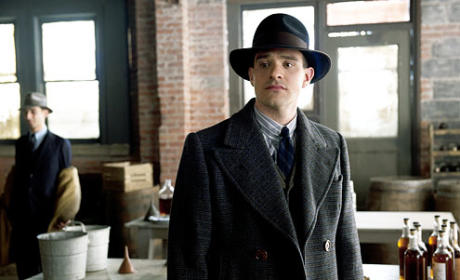 Charlie Cox on Boardwalk Empire