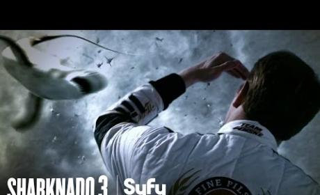 Sharknado 3 Teaser: The Shark's Trifecta