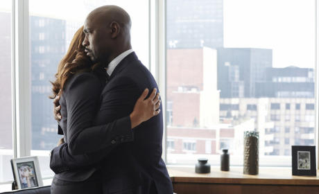 Suits Photo Gallery: Is Louis In?