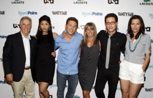 Royal Pains Cast Photo