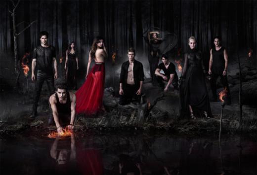 Vampire Diaries Season 5 Poster