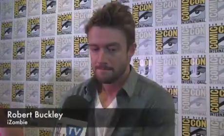 Robert Buckley Comic-Con Interview