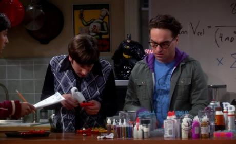 Raj, Leonard and Wolowitz Help
