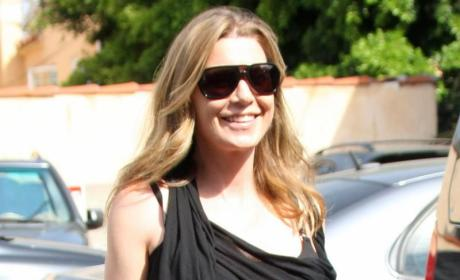 Ellen Pompeo is a Mom!