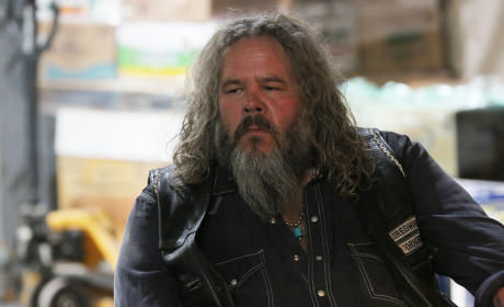 Bobby in Thought - Sons of Anarchy