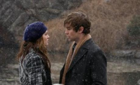Nate and Blair Outside