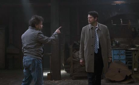 Castiel confronts Metatron - Supernatural Season 11 Episode 6