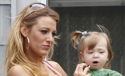 Blake Lively Films The Town in Boston