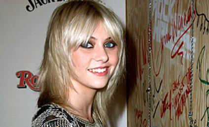 Taylor Momsen Leaves Her Mark