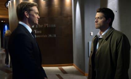 Supernatural Photo Preview: Castiel Captured!