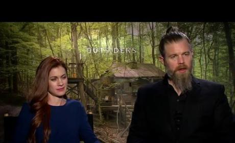 "WGN America's Outsiders Cast Interviews: ""Little House on the Prairie Meets Mad Max"""