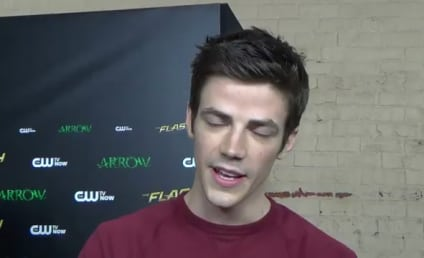 The Flash Cast Previews Arrow Crossover Special, Doing Battle with Stephen Amell & More