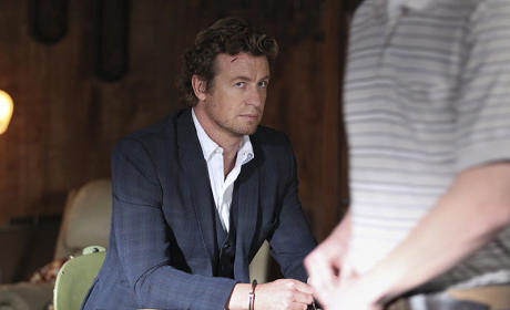 The Mentalist Photo Gallery: Taking the Bait