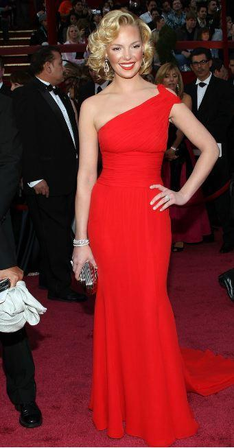 Heigl at the Oscars