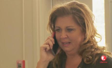 Abby on the Phone - Dance Moms