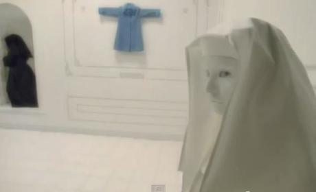 American Horror Story Asylum Teaser: Why So Blue?