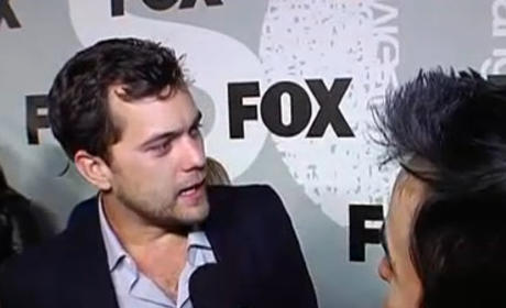 Joshua Jackson on Fringe