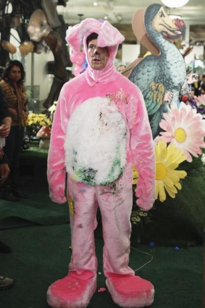 Daniel in a Bunny Suit