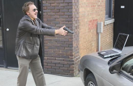He'll Shoot!