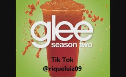 "Glee Song Snippets, Spoilers: ""Blame It On the Alcohol"""