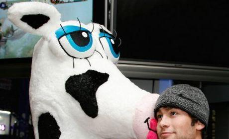An Udderly Silly Chace Crawford Photo