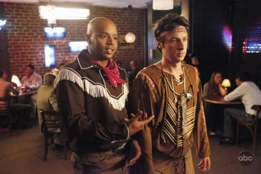 J.D. and Turk in Costume