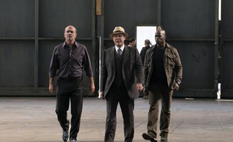 Red is on some serious business - The Blacklist Season 4 Episode 5