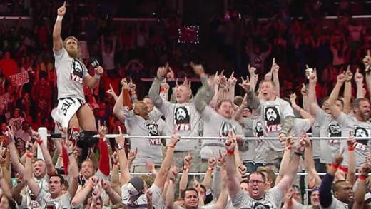 Bryan on WWE Raw