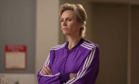Angry Sue Sylvester