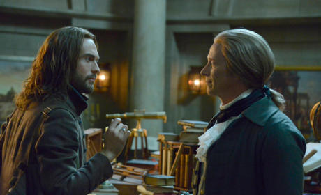 Ichabod and Jefferson Catch Up - Sleepy Hollow Season 2 Episode 16