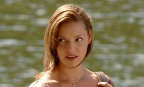"Katherine Heigl on ""27 Dresses"" Set"
