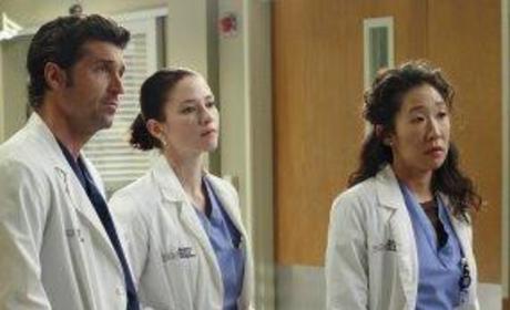 Derek, Lexie, Cristina