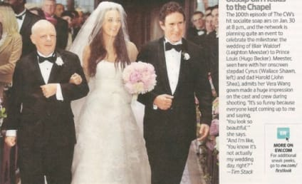 Gossip Girl Wedding Pic: Blair's Two Dads