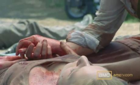 "The Walking Dead Sneak Peek: ""Wildfire"""