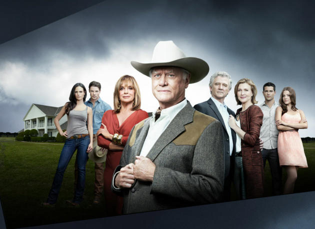 Dallas Cast Photo