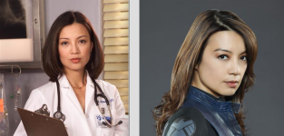 Ming-Na Wen - Then and Now - Agents of S.H.I.E.L.D.