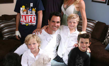 Don Diamont is a Family Man