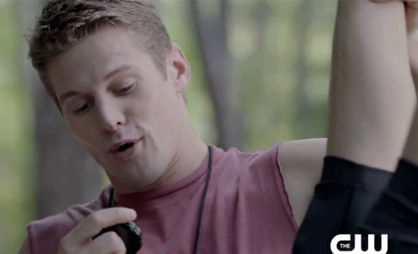 The Vampire Diaries Sneak Peek: Working Out With Matt!