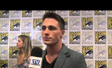 Colton Haynes Comic-Con Exclusive