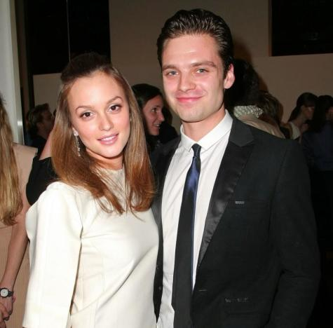 Leighton Meester and Sebastian Stan Photo