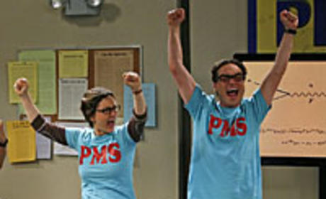 Leslie and Leonard are PMS