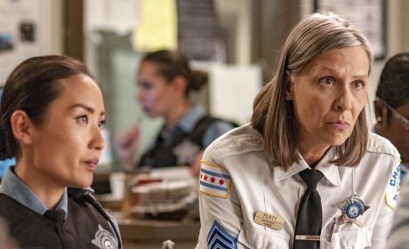 Platt and Tay On Duty - Chicago PD Season 4 Episode 4